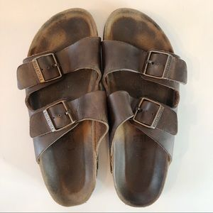 Birkenstock Arizona Soft Footbed Leather Size 10